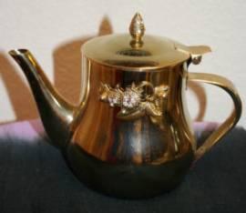 Kleine Teekanne aus Marokko - Bild vergrößern